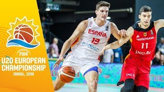 Spain v Germany - Full Game - FIBA U20 European Championship 2019