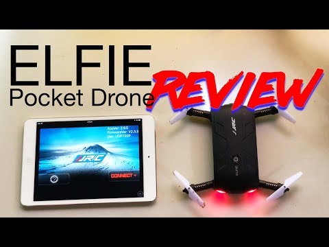 JJRC Elfie Drone Review - How much fun can the small, cheap pocket drone really be?
