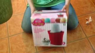 VLOG:  Rival Unboxing Frozen Delights 4-Quart Ice Cream, Frozen Yoghurt, and Sorbet Maker