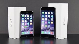 Apple iPhone 6 vs 6 Plus: Unboxing & Comparison
