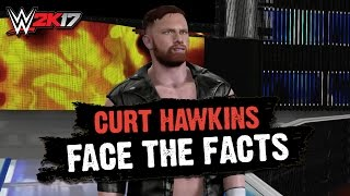 WWE 2K17 Creations: CURT HAWKINS Entrance, Signature & Finisher! (PS4)