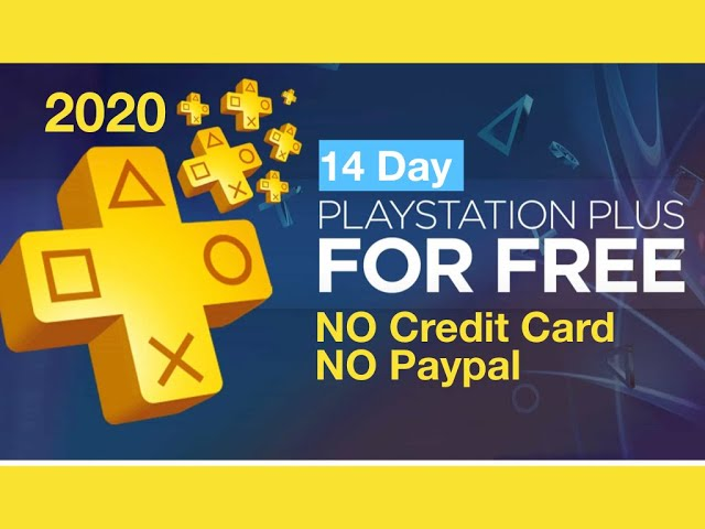 【How to】 Activate Playstation Plus Free Trial Without
