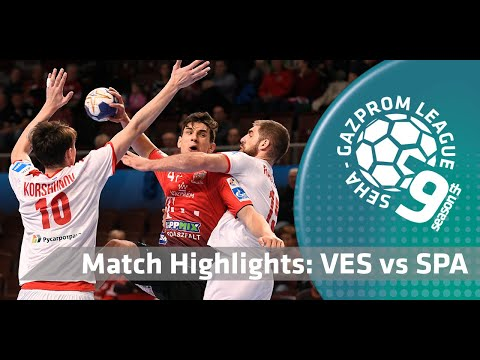 Match highlights: Telekom Veszprem vs Spartak