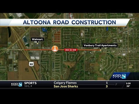 Altoona construction project will slow traffic