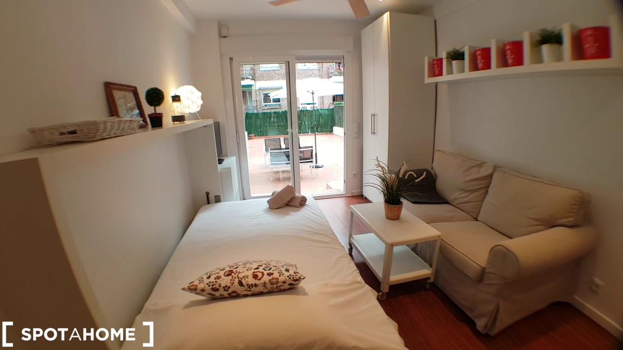 Studio apartment for rent in Prosperidad