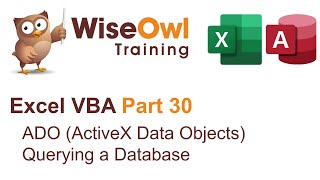 Download Youtube: Excel VBA Introduction Part 30 - ADO (ActiveX Data Objects) Querying a Database