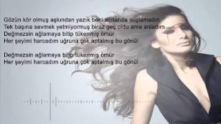 İrem Derici- Değmezsin Ağlamaya şarkı Sözü-(lyric Video)