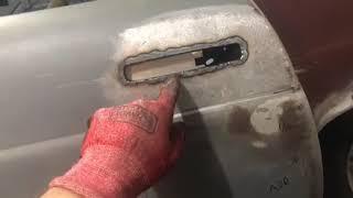 "Installing Dave Kindig-It Design ""Straight Style"" Crome Door Handles"