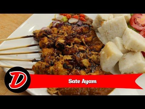 Video Resep Sate Ayam Bumbu Kacang