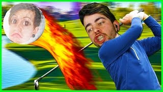 Golf with Friends... DUE TO MY RAGE ISSUES I NO LONGER HAVE FRIENDS • (Funny Moments)