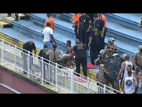 Βραζιλία: Θλιβερά επεισόδια σε γήπεδο και ανησυχίες ενόψει Μουντιάλ