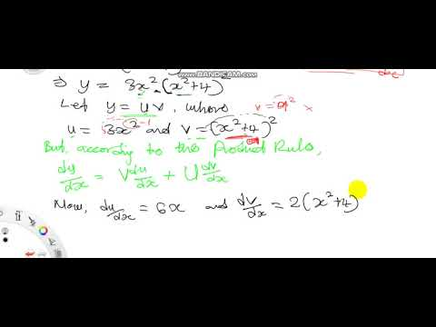 Product Rule for Differentiation Practice Example3 Further Mathematics for WASSCE Calculus Different