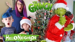 Hello Neighbor In Real Life! The Grinch Edition (Funhouse Family)