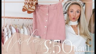 AFFORDABLE HIGHSTREET SPRING HAUL // £50 + Under  // Fashion Mumblr