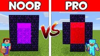 Minecraft - NOOB vs PRO : SECRET PORTAL in Minecraft ! AVM SHORTS Animation