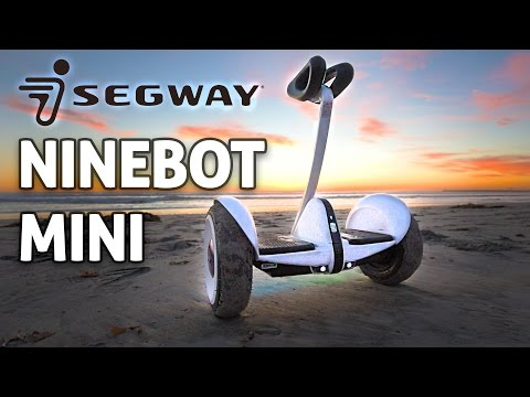 "Ninebot Mini, Self Balancing Hands-free Segway, ""Hoverboard 2.0!"" REVIEW"