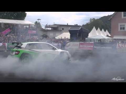 Skoda Fabia R5 Asphalt Drift - Jan Kopecky driftet auf Asphalt