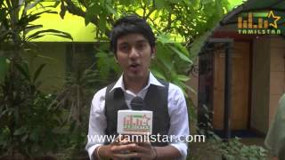 Sai Shankar at Vaanavil Vaazhkai Movie Press Meet