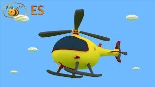 Huevo Sorpresa: Un Helicóptero. Dibujo Animado Educatiovo Para Niños En Español