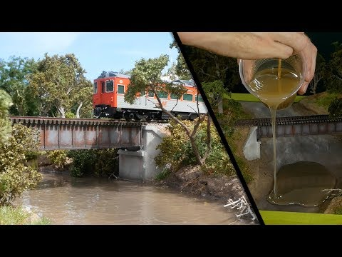 Ultra-Realistic Railway Bridge Diorama – Luke Towan