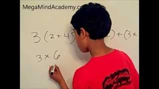 Distributive Property Of Multiplication Over Addition.wmv