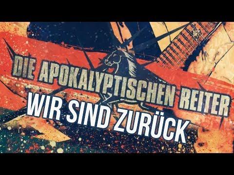 DIE APOKALYPTISCHEN REITER выпустили клип на заглавный трек нового альбома Der Rote Reiter