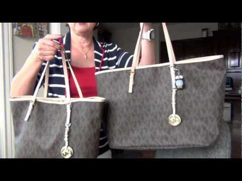 Look for Less - Michael Kors Jet Set Travel Tote