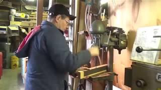 Building a bracket for our John Deere 1840 Loader Tractor.