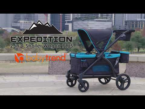 Baby Trend Expedition® 2-in-1 Stroller Wagon PLUS