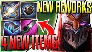 4 NEW ITEMS & AP ITEMS REWORK! RENGAR BACK! ZED BUFFS!! - New 8.4 Changes - League of Legends