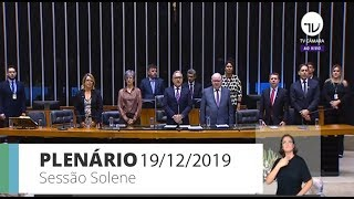 Plenário - Comemoração ao Dia do Arquiteto e Urbanista - 19/12/2019 09:00