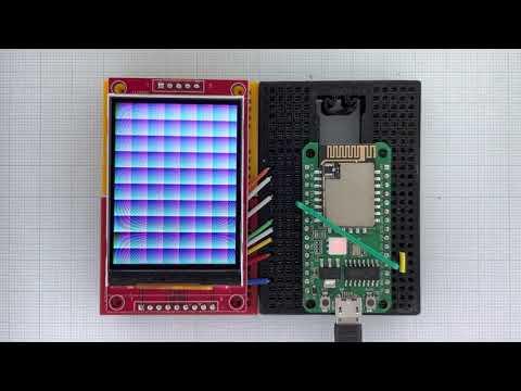 Arduino_GFX RTL8720 ILI9341
