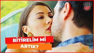 Ayşe Ve Kerem'in Olaylı Öpüşmesi   Afili Aşk 10. Bölüm (İLK SAHNE)