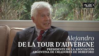 Alejandro de la Tour D'Auvergne - Presidente de la A.A.C.H.