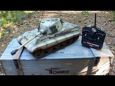 Torro KÖNIGSTIGER - RC Panzer (1:16 / 2.4Ghz) von Torro-Shop.de - Testbericht & Testfahrt