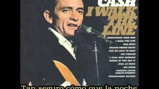 I Walk The Line - Johnny Cash (Subtitulada) (Sentido Romántico)