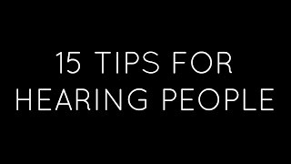 Deaf Awareness Month| How To Interact With Deaf & Hard Of Hearing People