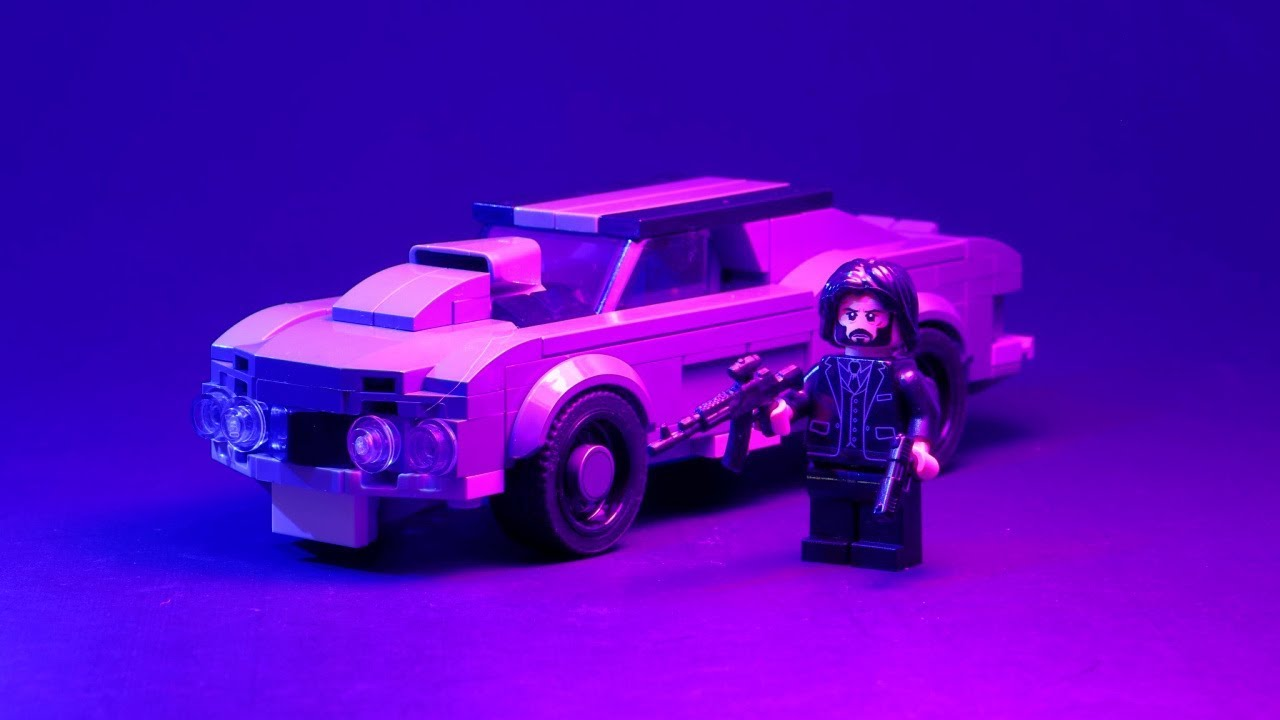 LEGO Ford MUSTANG Mach 1 from JOHN WICK!!⎜A LEGO MOC