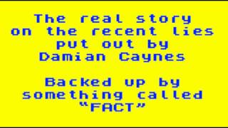 DAMIAN CAYNES ALLEGATIONS - THE REAL STORY