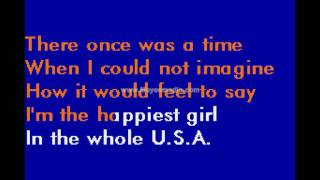 Donna Fargo   Happiest Girl In The Whole USA MH HD Karaoke PK02530