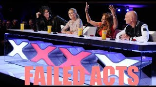 SERIOUSLY AWFUL ACTS! - America's Got Talent