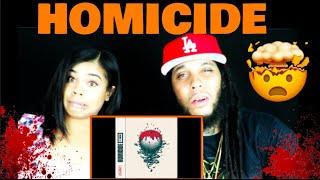 LOGIC & EMINEM - HOMICIDE REACTION!