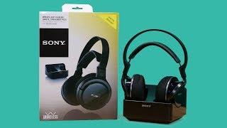 Sony MDR-RF855RK RF Wireless Headphones ~ Unboxing & Test ~ Česky ⁴ᴷ