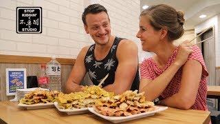 外國版千千進食中? ft. 台灣鍋貼: Curry Potstickers Challenge In Taiwan