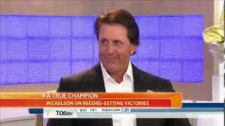 TODAY: Phil Mickelson vs. Matt Lauer - dooclip.me