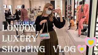 LONDON LUXURY SHOPPING VLOG 2020 - Come Shopping With Me At Harrods, Dior, Chanel & Louis Vuitton II