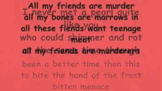 The Distillers Drian The Blood - lyrics