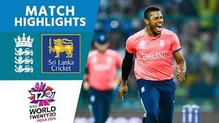 Classy Buttler 66* Sets Up England Win   ICC #Men's WT20 2016 - Sri Lanka vs England - Highlights