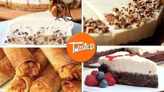 Delicious Cheesecake 7 Ways | Strawberry Cheesecake | Best Cheesecake Recipes | Twisted