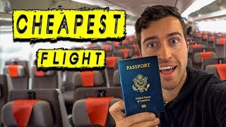 Buying the CHEAPEST Flight on the Spot